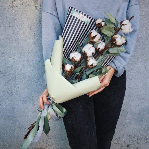 """Букет """"Хлопковая нежность"""": букеты цветов на заказ Flowwow"""