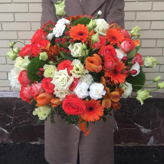 Осенняя пора: букеты цветов на заказ Flowwow