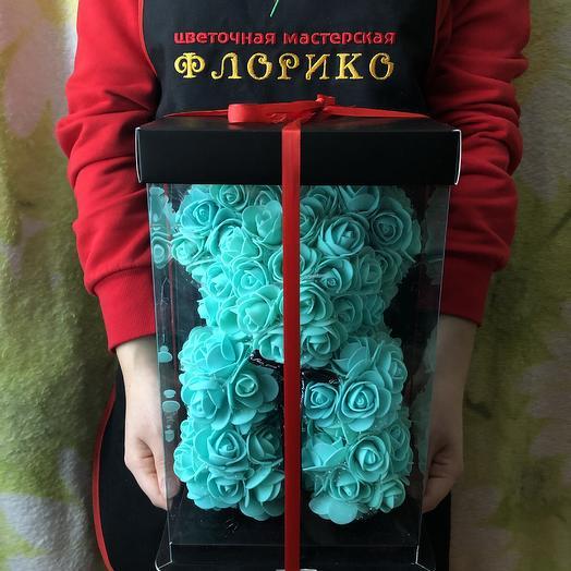 Teddy rose turquoise: букеты цветов на заказ Flowwow