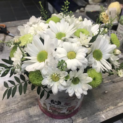 Милые ромашки: букеты цветов на заказ Flowwow