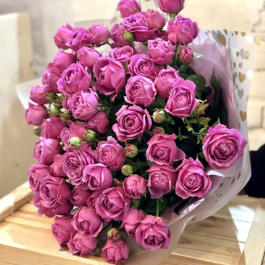 Букет из розы Мисти Баблс: букеты цветов на заказ Flowwow