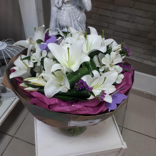 Букет  Лилиум: букеты цветов на заказ Flowwow