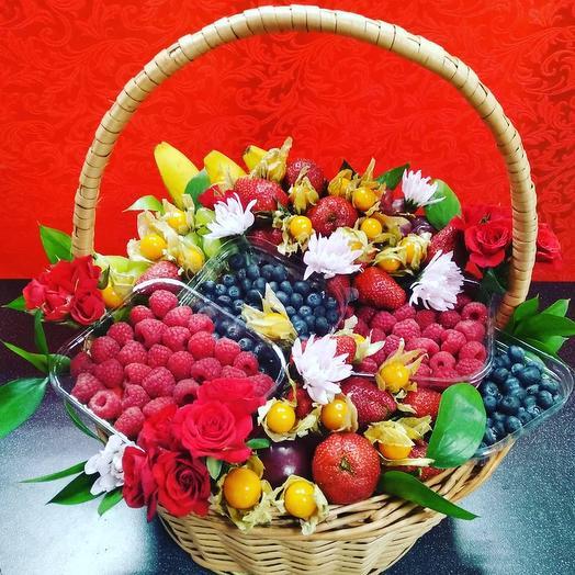 Ягодный Коктейль: букеты цветов на заказ Flowwow