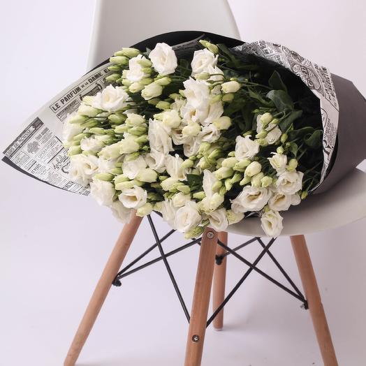 19 лизиантусов Craft: букеты цветов на заказ Flowwow