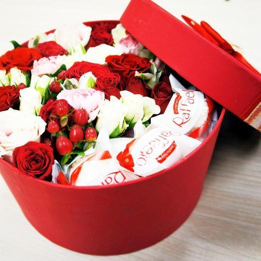 Шляпная коробка 18: букеты цветов на заказ Flowwow