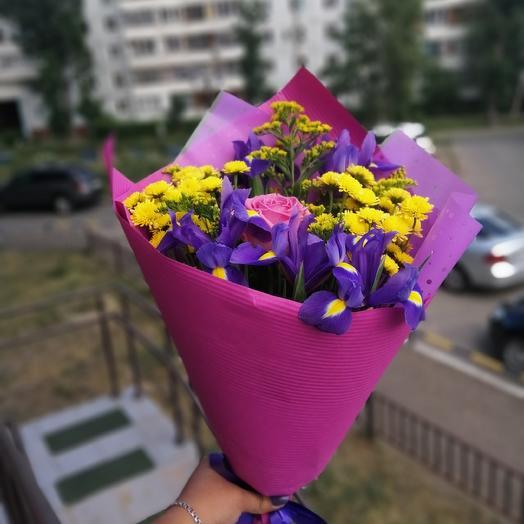 Летнее чудо: букеты цветов на заказ Flowwow