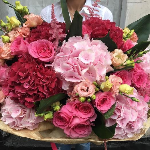 Букет «Эльза»: букеты цветов на заказ Flowwow