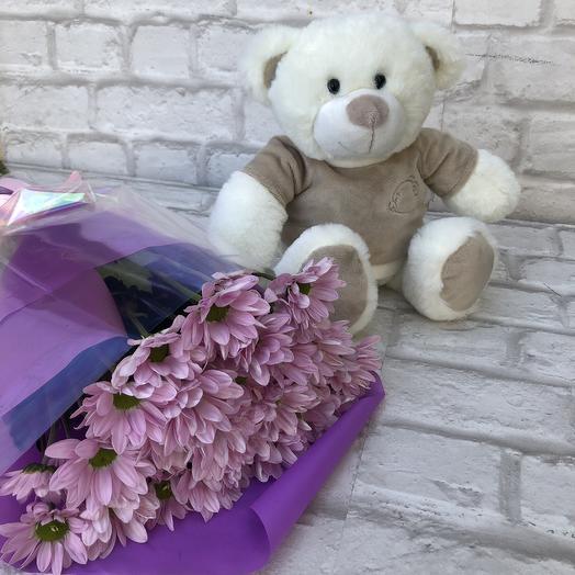 Чудесное комбо!💜: букеты цветов на заказ Flowwow
