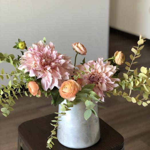 Peaches Cream: flowers to order Flowwow