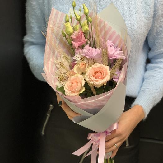 Букет комплимент «нежное утро»: букеты цветов на заказ Flowwow
