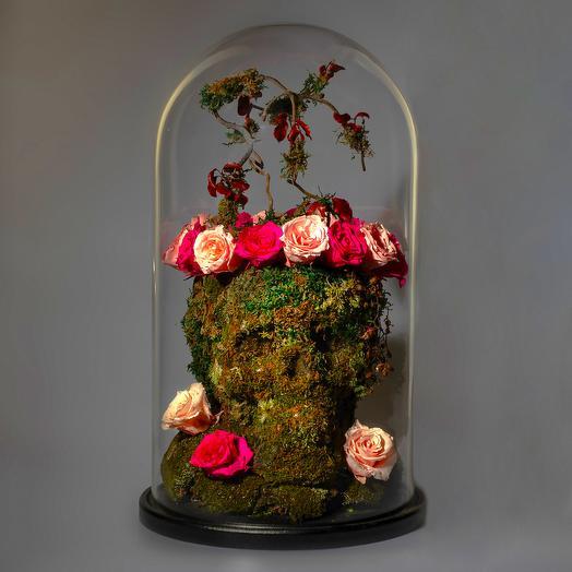 """Композиция """"Deadly Love"""": букеты цветов на заказ Flowwow"""