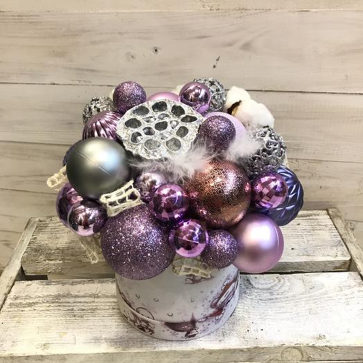 Необыкновенная праздничная композиция: букеты цветов на заказ Flowwow