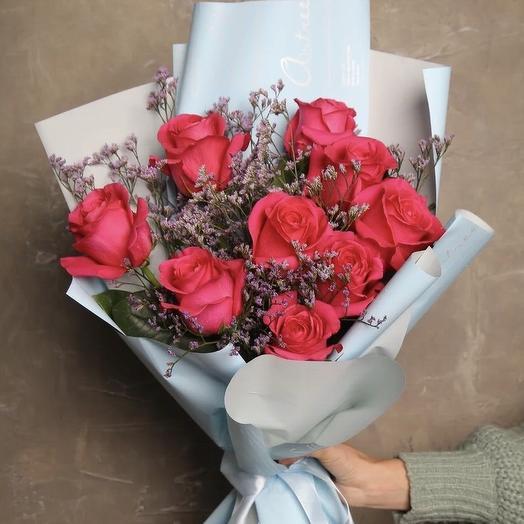 Розы мечты💕: букеты цветов на заказ Flowwow
