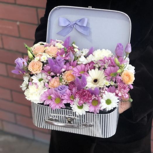 Весенний сундучок💝: букеты цветов на заказ Flowwow