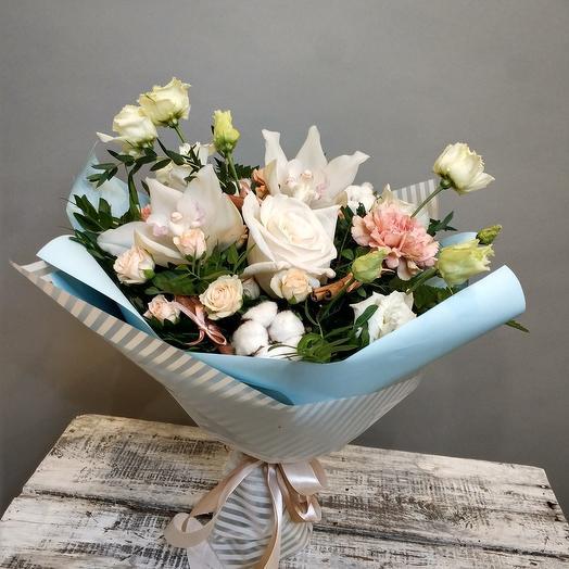 Латте с корицей: букеты цветов на заказ Flowwow