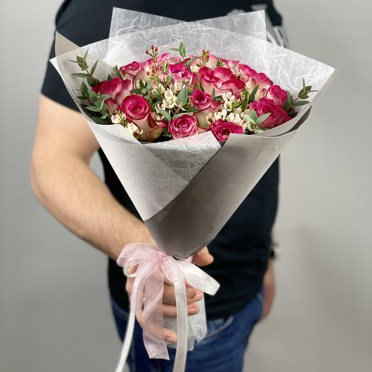 Букет для любимых: букеты цветов на заказ Flowwow
