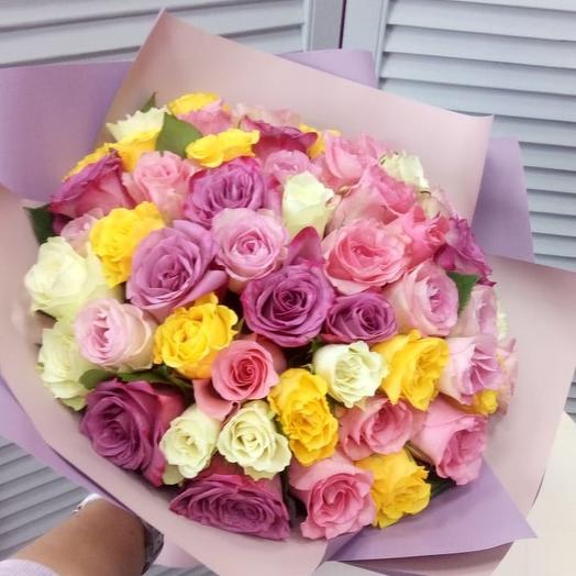 Искры любви: букеты цветов на заказ Flowwow