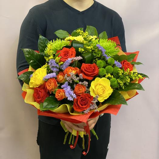 На радость: букеты цветов на заказ Flowwow