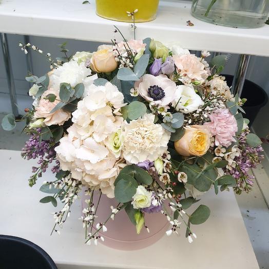 Коробочка Муд: букеты цветов на заказ Flowwow