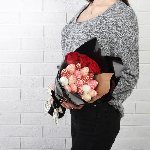 Букет «Сладкое воспоминание»: букеты цветов на заказ Flowwow