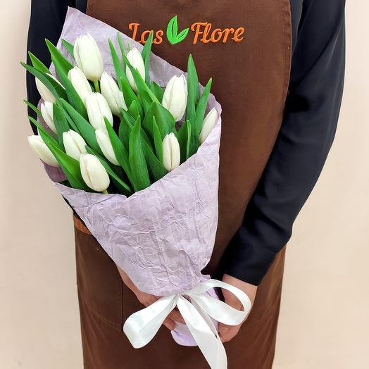 Букет  Дени (15 тюльпанов)