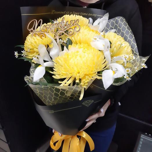 """Букет """"Романтичная Пчелка"""": букеты цветов на заказ Flowwow"""