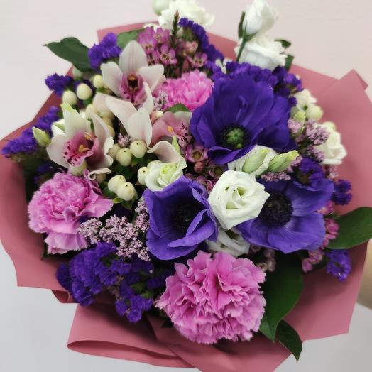 Волшебный сад: букеты цветов на заказ Flowwow