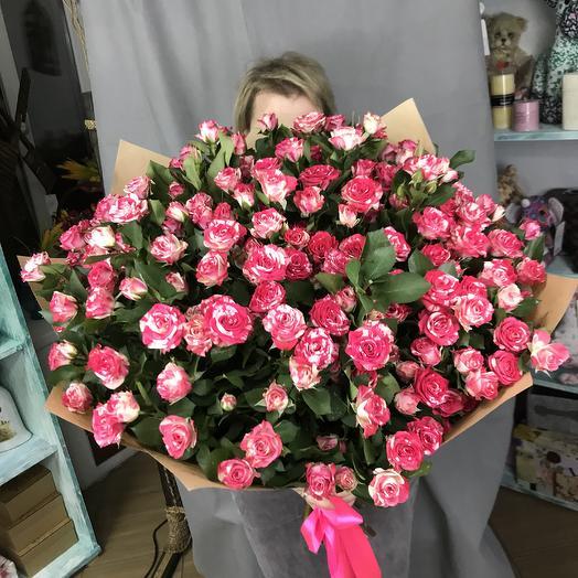Букет Нежный батик: букеты цветов на заказ Flowwow