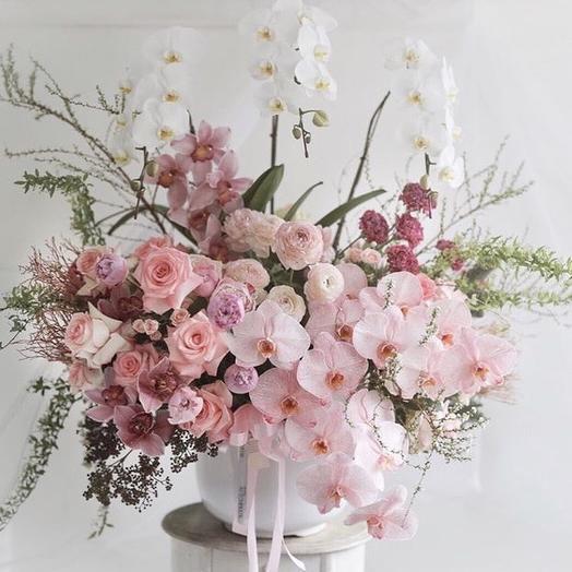 Райский коктейль: букеты цветов на заказ Flowwow