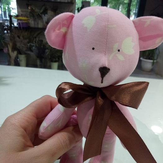 Розовый миша: букеты цветов на заказ Flowwow