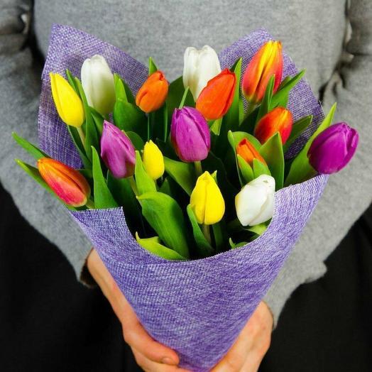 Тюльпанчики: букеты цветов на заказ Flowwow