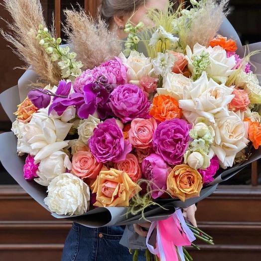 Букет цветов «Восторг»