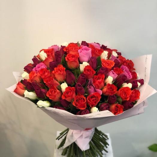 71 роза микс