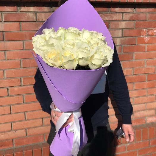 Букет роз Сирень