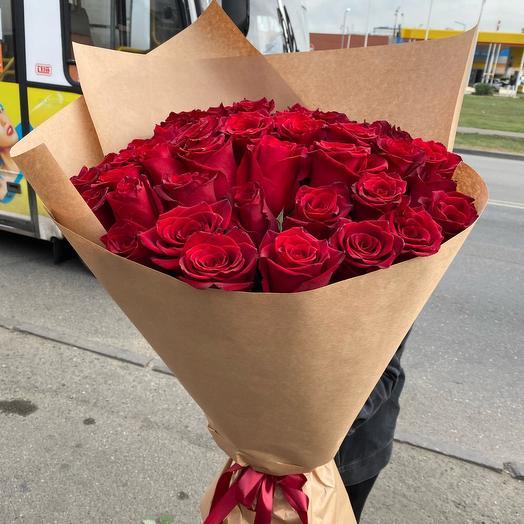 Букет роз « Дышу тобой»