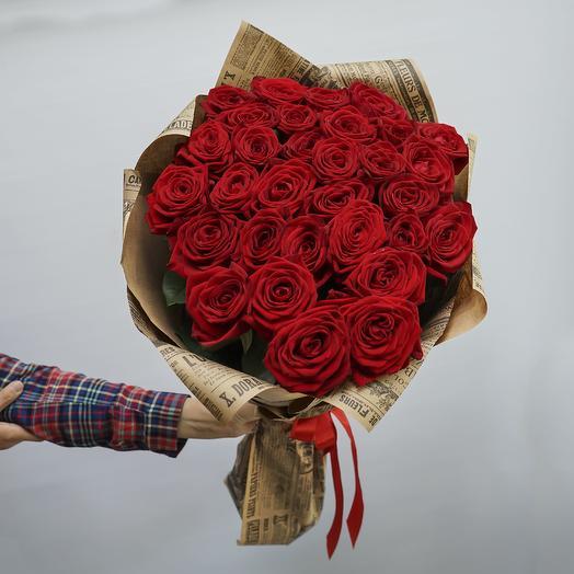 31 российская роза 60см