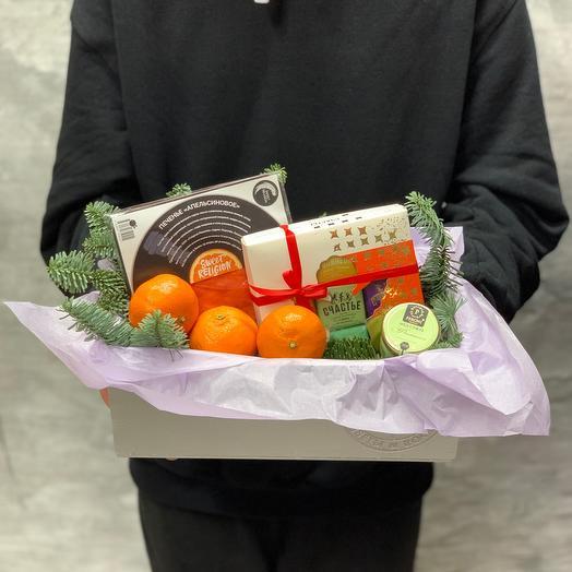 Зимний вкусный набор с пралине от компании «счастье»