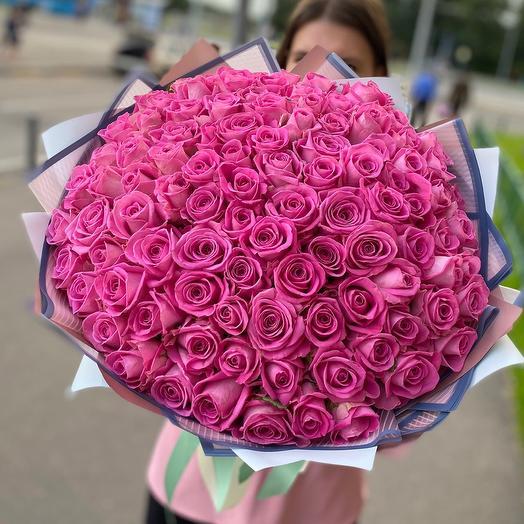 101 Роза Аква 💜