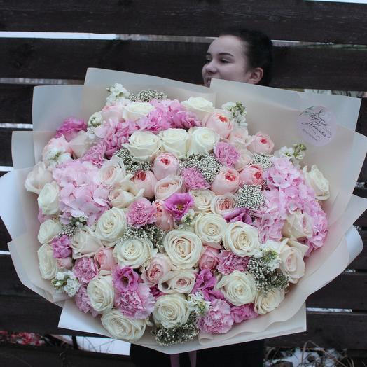 Цветочный букет 15