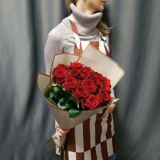 """Букет """"15 красных роз """""""