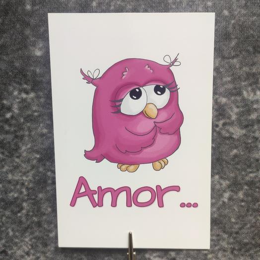 "Открытка ""Amor..."""