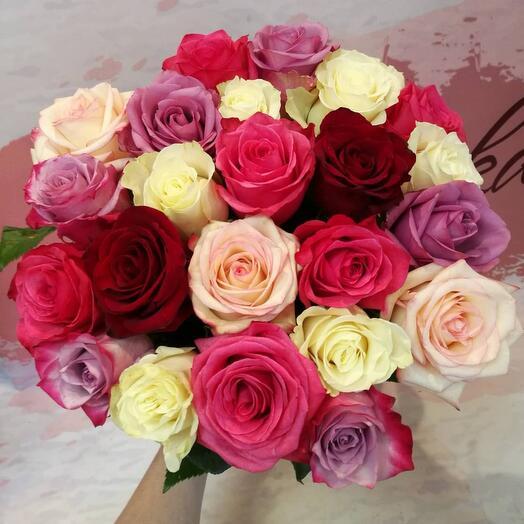 Букет роз 21 шт