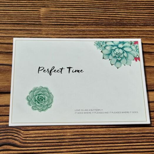 "Открытка ""Perfect Time"""