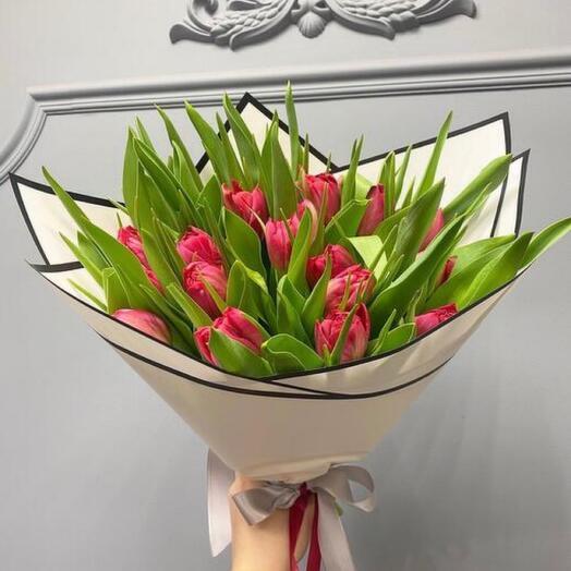 Большой букет тюльпанов 🥰