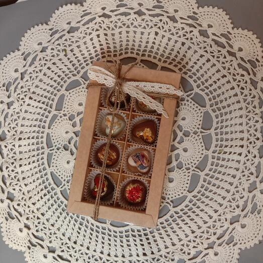 Шоколадный набор ручной работы
