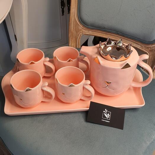 Набор для чаепития(керамика)