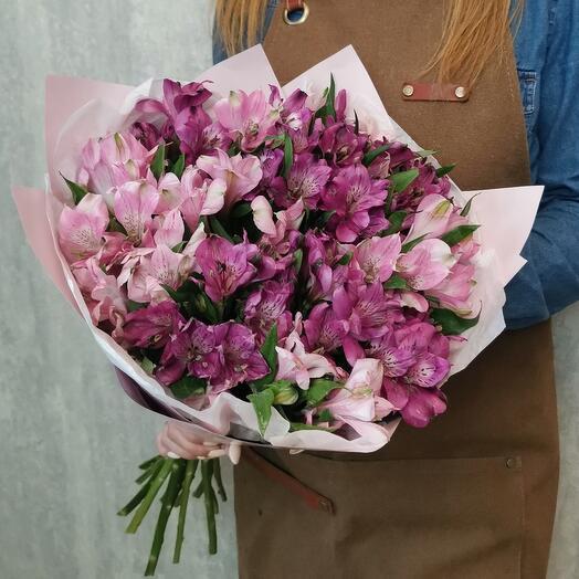 Bouquet of 15 Alstroemeria