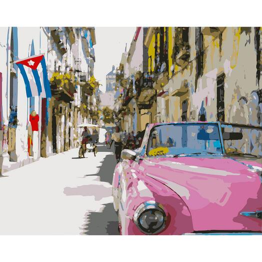 Картина по номерам День на Кубе