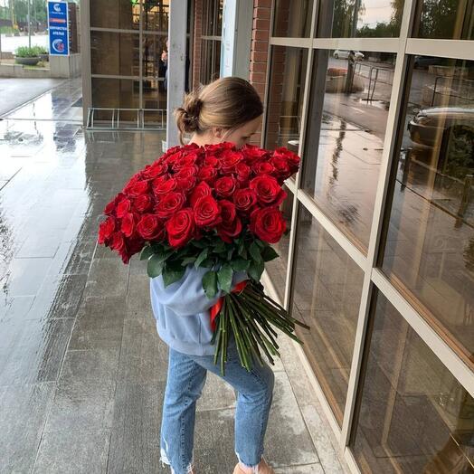 Букет из 49 роз