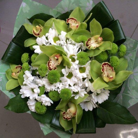 Орхидеи и Ко: букеты цветов на заказ Flowwow